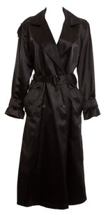 Dior Silk Vintage Trench Coat