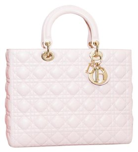 Dior Tote in Nude Pink