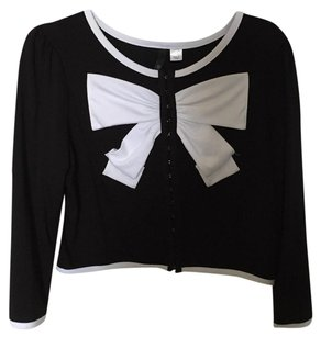 Divided by H&M Button Down Shirt Black & white
