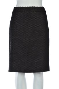 DKNY Womens Pencil Skirt Black