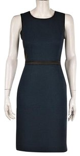 DKNY Womens Dark Green Dress