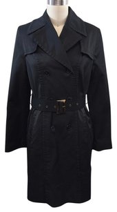 DKNY Double Breasted Belted Trench Trench Coat