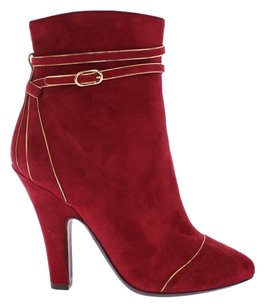 Dolce&Gabbana Nude Ysl Tribtoo Bordeaux Boots