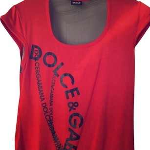 Dolce&Gabbana D&g Blouse Shirt Top red