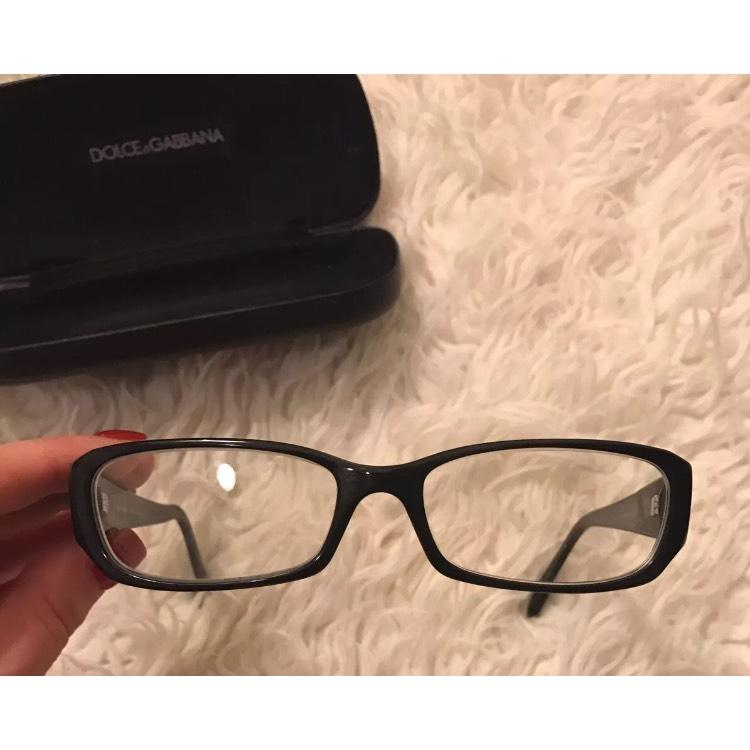 dolce gabbana dolce and gabbana black frame reading