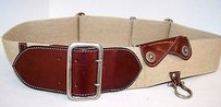 Dolce&Gabbana Dolce Gabbana Wide Stretch Brown Leather Hidden Compartment Belt