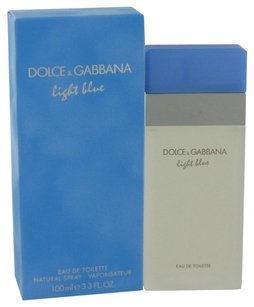 Dolce&Gabbana Light Blue By Dolce & Gabbana Eau De Toilette Spray 3.4 Oz