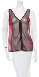 Dolce&Gabbana Dolce & Gabbana Tops Made In Italy Women Clothing Top Metallic Red and Black
