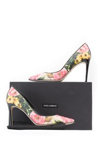 Dolce&Gabbana Printed Pump Floral Pumps