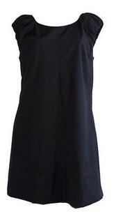Dolce&Gabbana short dress Black 100 Cotton Sleeveless Shift Xlnt on Tradesy