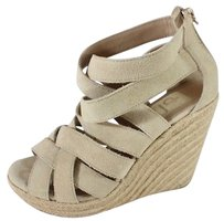 Dolce Vita Wedges Ecru / Tan Platforms