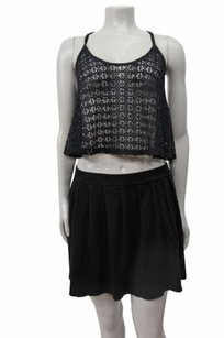 Dolce Vita Dv Pleated Knit Skirt black