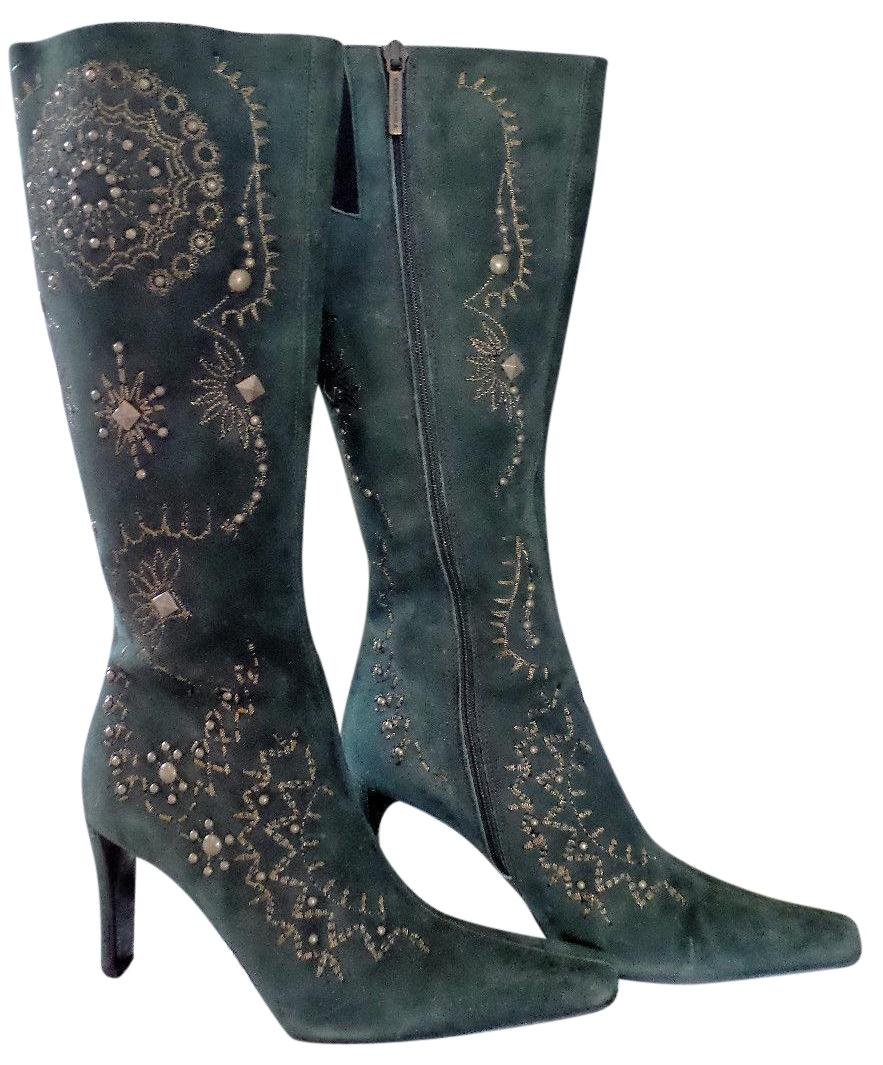 Donald J Pliner Embroidered Knee-High Boots clearance cheapest price 0rnfq3PV