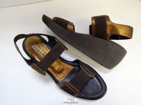 Donald J. Pliner Nona Bronze Sandals