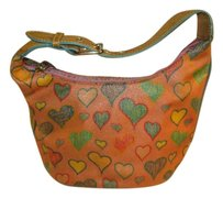 Dooney & Bourke Canvas Tote in Pink/Multi