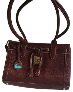 Dooney & Bourke Satchel in Wine