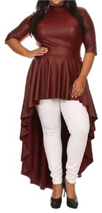 Dorcas Top Burgundy
