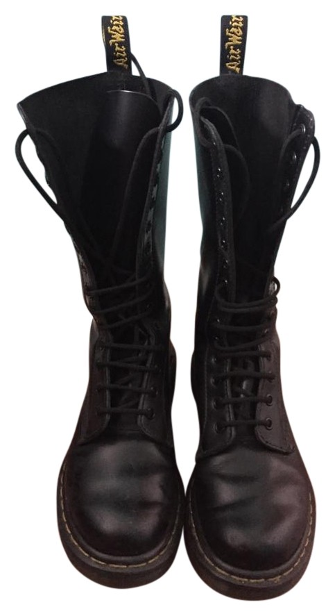 Dr. Martens Black 1914 Smooth Boots/Booties Size US 7 7 7 b223b9