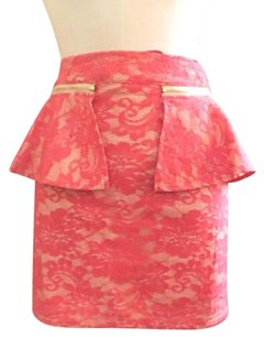 Dream State Skirt Coral