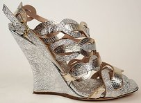 Dries van Noten Silver & Gold Sandals