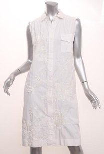 Dries van Noten short dress White Womens Black on Tradesy