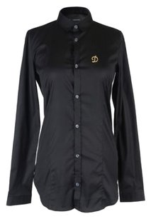Dsquared Button Down Shirt Top Black