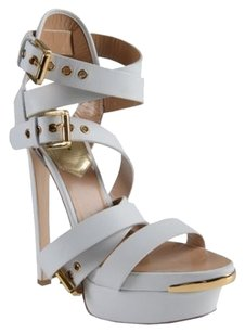Dsquared Strappy White Sandals