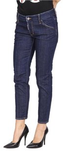 Dsquared2 Denim Made In Italy Skinny Jeans-Dark Rinse