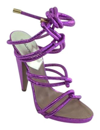 cross strap sandals - Pink & Purple Dsquared2