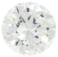 Earth 0.90ctw GIA Certified H VS2 Round Brilliant Cut Loose Diamond for Engagement Ring