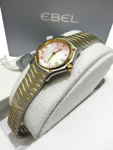 Ebel EBEL 1157111 WOMEN'S CLASSIC WATCH, 18Karat Yellow Gold and Stainless Steel