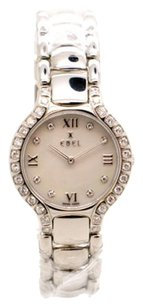 Ebel EBEL DIAMOND BEZEL MOP DIAMOND DIAL BELUGA LADIES WATCH