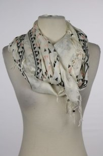 Ecote Ecote Womens Ivory Printed Infinity Scarf One Casual