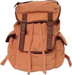 Ecote Shoulder Large Canvas Backpack