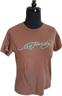 Ed Hardy T Shirt Top Browns