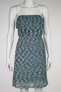 Eight Sixty Womens Blue Dress