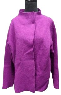 Eileen Fisher Grape Purple Jacket