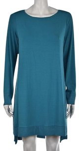 Eileen Fisher Womens Teal Tunic
