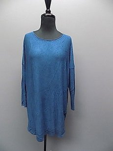 Eileen Fisher Long Sleeved Scoop Neck Knit Oversize 1295a Tunic