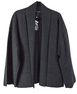 Eileen Fisher Unstructured Shawl Collar Drop No Closure Cardigan