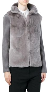 ELEVENPARIS Italian Fur Cashmere Luxury Sweater