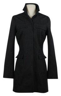 Elie Tahari Basic Dark Gray Jacket