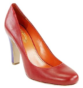 Elie Tahari Good Eu 11 Us Womens Leather Nbw red Pumps