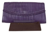 Elie Tahari Purple Clutch