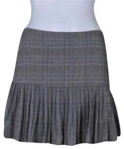 Elie Tahari Womens Skirt Black / White / Blue / Orange