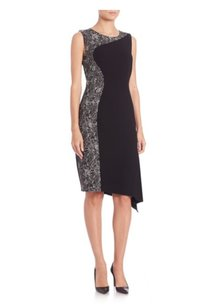 Elie Tahari Wynn Lbd Printed Dress