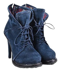Elizabeth and James Navy Blue Boots