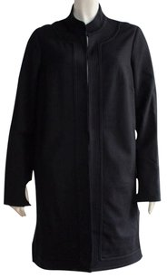 Elizabeth and James Rayon Blend Long Stand Hs750 Coat