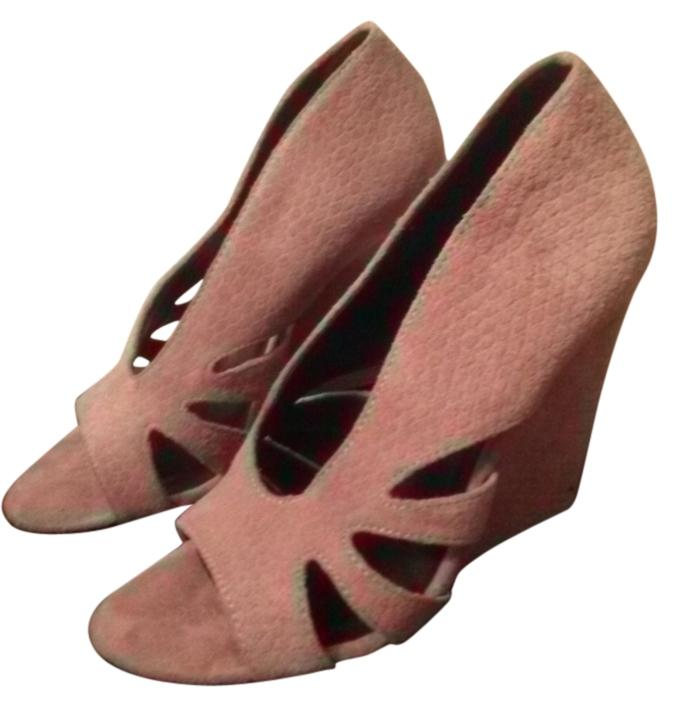 Elizabeth and James Suede Wedge Pumps sale latest collections clearance 2014 unisex TFeQgniMIi