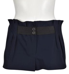 Elizabeth and James Womens Dress Shorts Navy